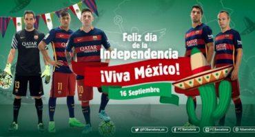 Barcelona felicita a México por el Día de la Independencia