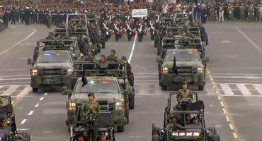 Las mejores fotos del Desfile Militar del Día de la Independencia