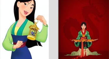 Así se verían las princesas de Disney vestidas de acuerdo a su época