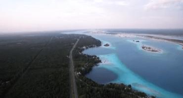 Explorando México con un drone