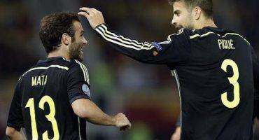Juan Mata marcó el gol del día en las Eliminatorias rumbo a la Eurocopa 2016