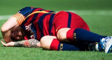 Lionel Messi se perderá de 7 a 8 semanas por lesión