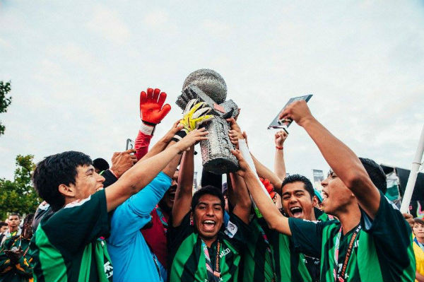 Mexico campeón de la Homeless World Cup 6