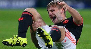 Escalofriante: Accidentalmente, Héctor Moreno lesiona a Luke Shaw