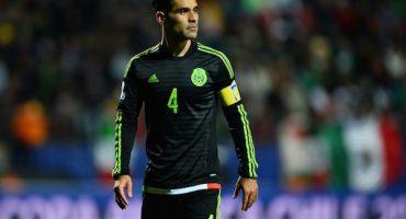 Rafael Marquez se perderá los partidos ante El Salvador y Honduras