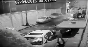 Captan en video el asalto a una pareja en la Colonia Mixcoac