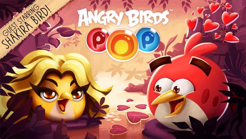 Shakira se transforma en personaje de Angry Birds