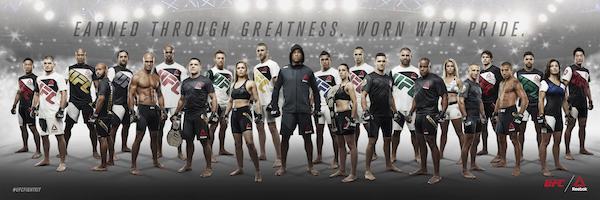 Reebok presentó la nueva equipación de UFC... y nos puso a sudar ¡¡En serio!!