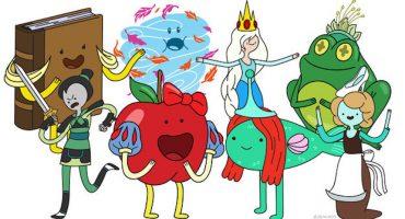 Las Princesas Disney, versión Adventure Time