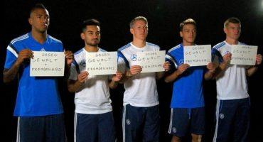 Selección de Alemania se pronuncia en contra de la xenofobia