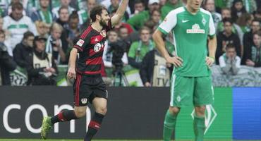 Con Chicharito de cambio, Leverkusen goleó al Werder Bremen