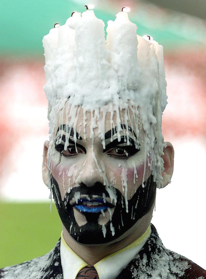 """Make-up artist """"Nambla the Clown"""" from the San Fra"""