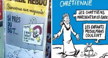 La polémica portada de Charlie Hebdo sobre la muerte del niño sirio Aylan