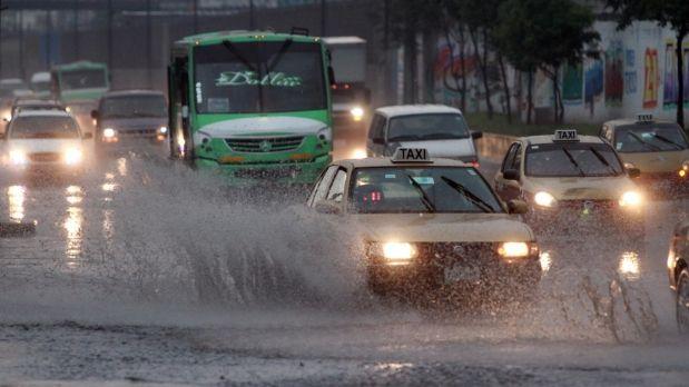 ¡Aguas! Lluvia y tráfico, checa por dónde NO ir