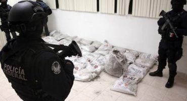 Decomisan una tonelada de cocaína negra en el Aeropuerto de la Ciudad de México