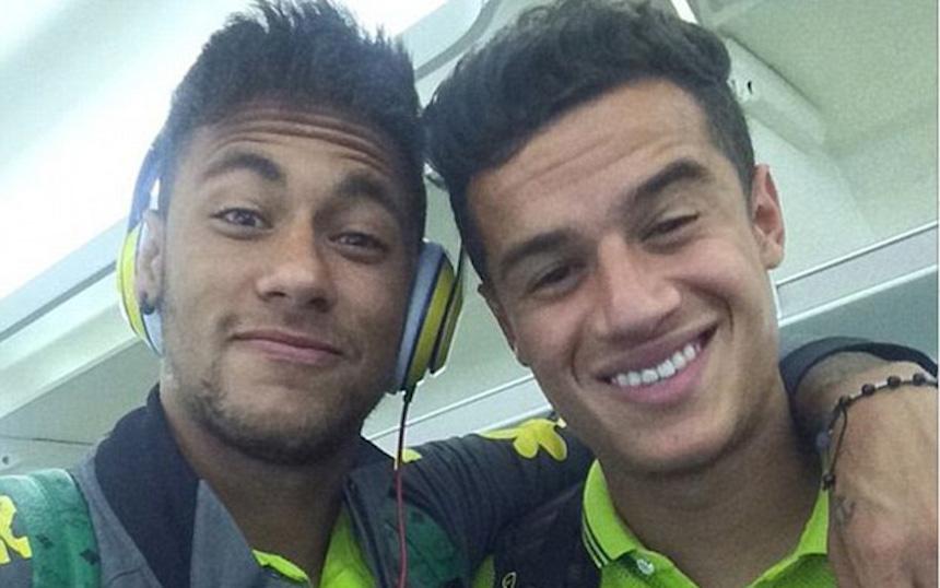 Neymar pide al Barcelona fichar a Coutinho