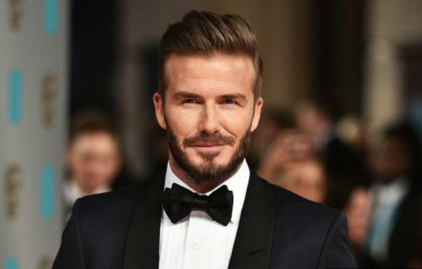 ¿David Beckham como James Bond? Créanlo, puede pasar