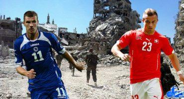 De refugiados de guerra a cracks del fútbol mundial