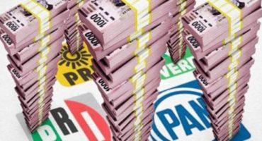 Morena propone disminuir 50% el financiamiento público a partidos