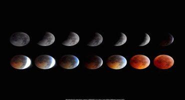 Hay eclipse lunar esta noche y esto es todo lo que deben de saber para verlo