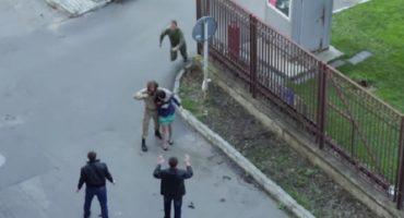EpicFail: soldado somete a secuestrador... era grabación de película