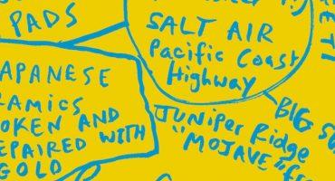 Deerhunter habla de sus influencias a través de un cartel interactivo