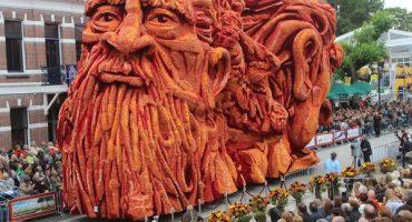 """El festival """"Corso Zundert"""" que festeja a Van Gogh"""