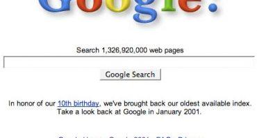 ¿Cómo eran las páginas de internet cuando fueron los atentados del 9/11?