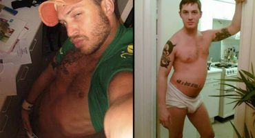 Tom Hardy orgulloso de sus fotos de MySpace