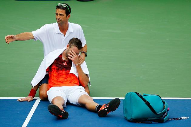 Jugador queda paralizado en pleno partido del US Open