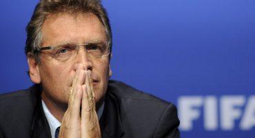 Cesaron a Jerome Valcke como secretario general de la FIFA