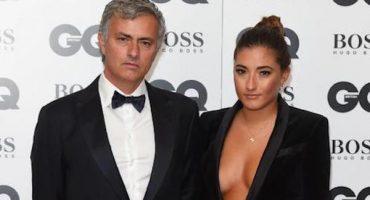 La hija de Mourinho levantó suspiros en una alfombra roja