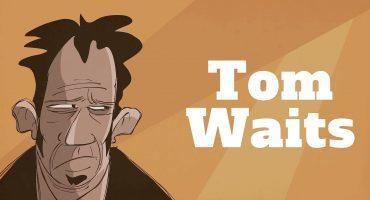 Checa una entrevista animada de Tom Waits en 1988
