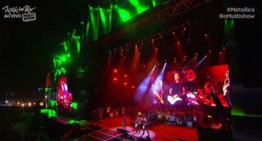 Mira la presentación en Pro-Shot de Metallica desde Rock in Rio
