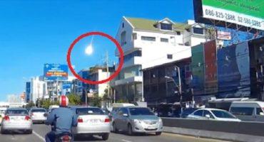 Misteriosa bola de luz cae sobre Bangkok; podría ser un meteorito