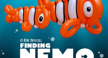 Icónicas escenas de películas recreadas con globos