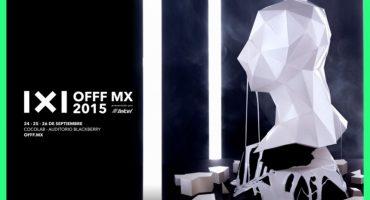 Aprovechen nuestro descuento especial para el Festival OFFF MX