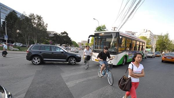 En China conductores