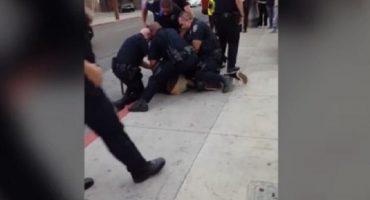 Estados Unidos: nueve policías arrestan a chico de 16 años por no cruzar bien la calle
