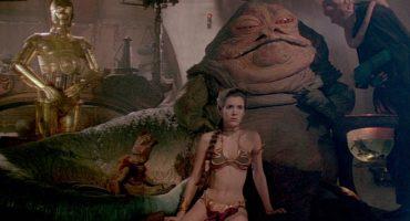 ¡Subastarán el bikini dorado de la Princesa Leia!