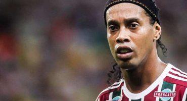 ¿El final de su carrera? el Fluminense ya no quieren más a Ronaldinho