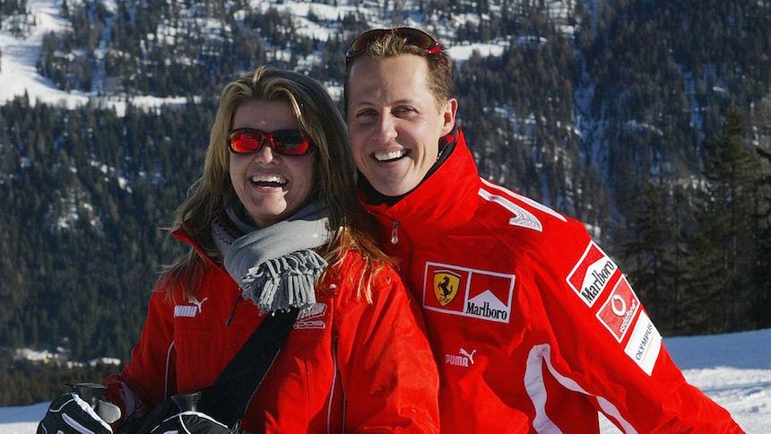 Michael Schumacher pesaría menos de 45 kilos