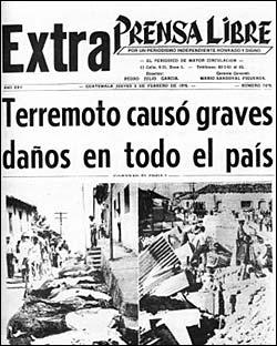 terremoto prensa libre