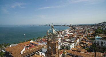 Así se ve Puerto Vallarta desde el cielo