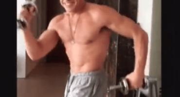 Pesas y baile: el nuevo entrenamiento de Jean-Claude Van Damme