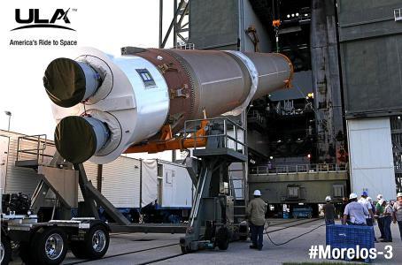 Lanzan al espacio el satélite mexicano Morelos 3