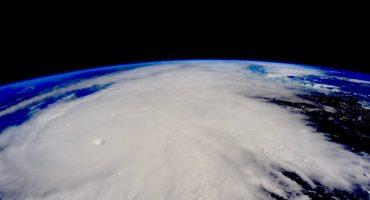 Así se ve el #HuracanPatricia desde la Estación Espacial Internacional