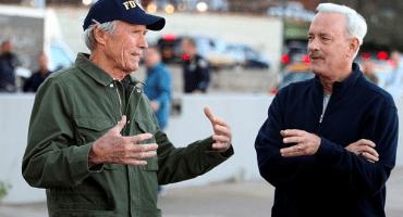 Chequen las nuevas imágenes de Sully con Eastwood y Hanks