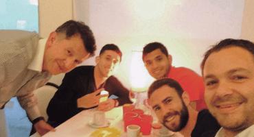 Y en la imagen del día... Juan Carlos Osorio convivió con los mexicanos del Porto