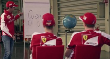 Chequen las clases que Esteban Gutiérrez le dio a Raikkonen y Vettel sobre México